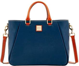 Dooney & Bourke Pebble Grain Top Zip Satchel