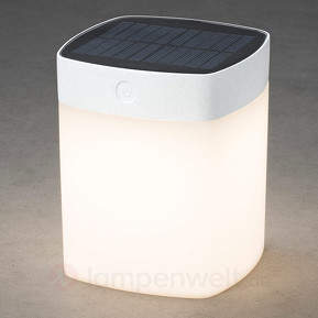 Dimmbare LED-Solarleuchte Assisi