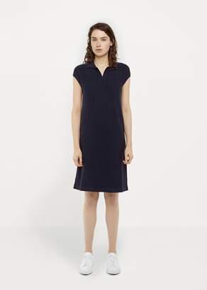 Sunspel Knitted Dress Navy