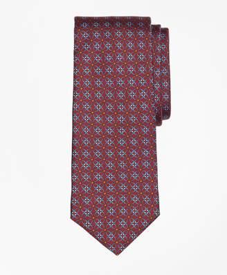 Brooks Brothers Horseshoe Link Print Tie