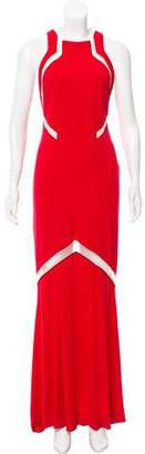 Galvan Sleeveless Maxi Dress