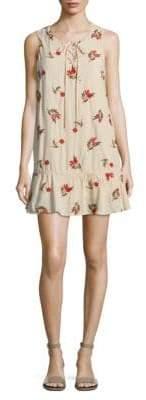 Lovers + Friends Floral Mini Shift Dress