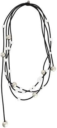 Maria Calderara spheres layered long necklace