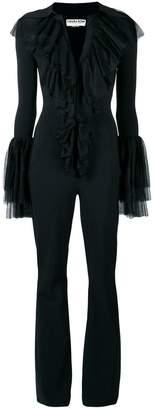 Chiara Boni Le Petite Robe Di ruffle front jumpsuit