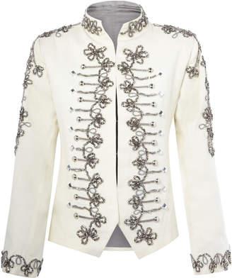 Nadya Shah Zara Military Jacket