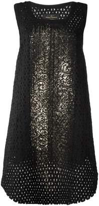 Vivienne Westwood net layered sleeveless dress