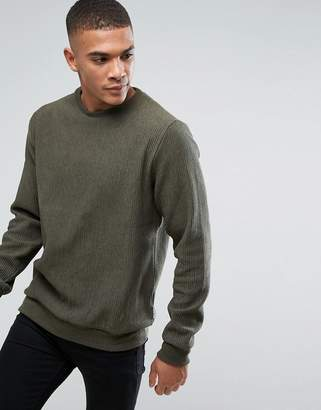 Bellfield Ribbed Sweatshirt
