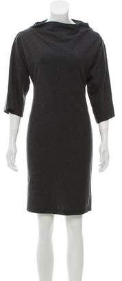 Diane von Furstenberg Wool Cowl Neck Dress