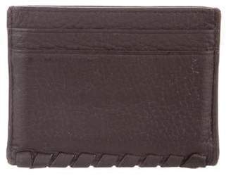 AllSaints Grain Leather Card Holder