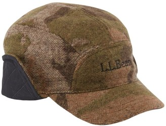 L.L. Bean L.L.Bean Maine Guide Wool Cap with Primaloft, Camouflage