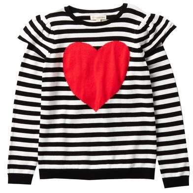 Tucker + Tate Ruffle Icon Sweater (Toddler, Little Girls, & Big Girls)
