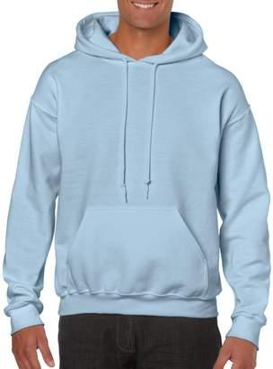 Gildan Heavy BlendTM Adult Hooded SweatShirt Light Blue 2XL