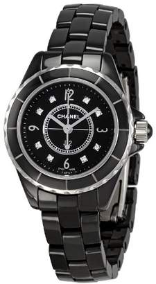 Chanel Women's H2569 J12 Ceramic Bracelet Watch