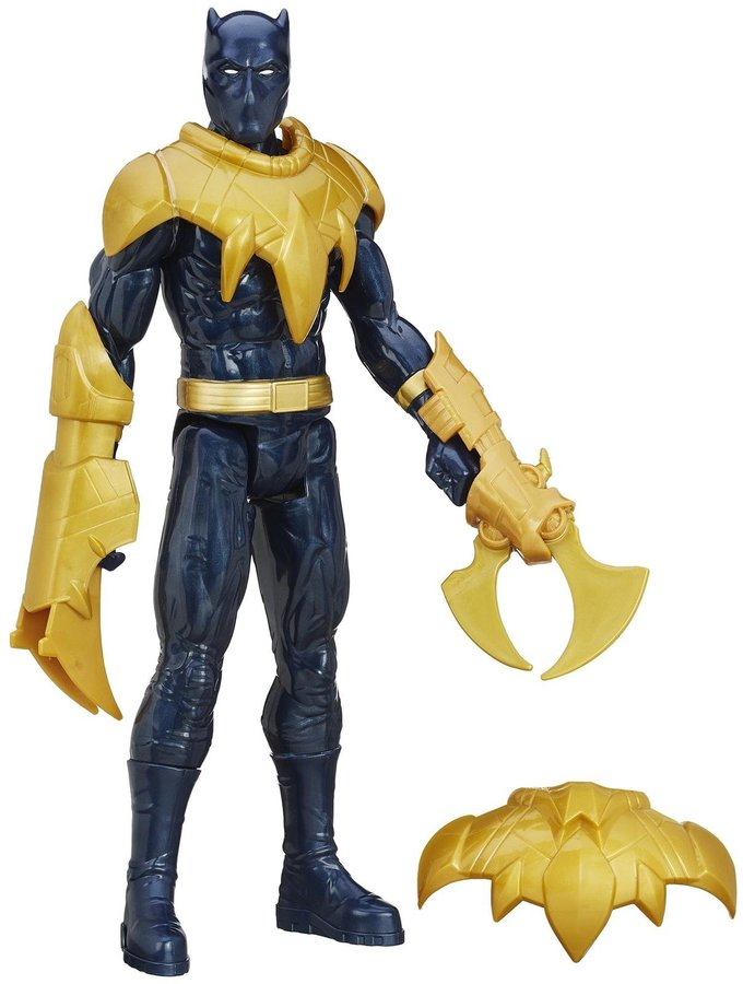 Avengers Black Panther Titan Hero With Gear