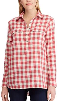Chaps Women's Plaid Twill Shirt
