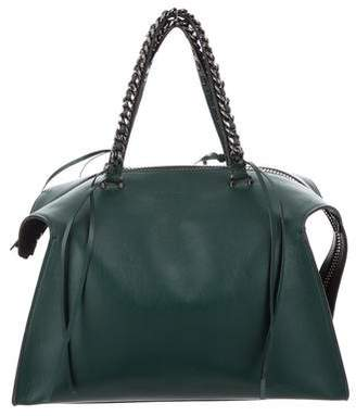 Elena Ghisellini Leather Convertible Satchel