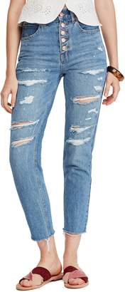 Free People Blossom Rigid Crop Skinny Jeans