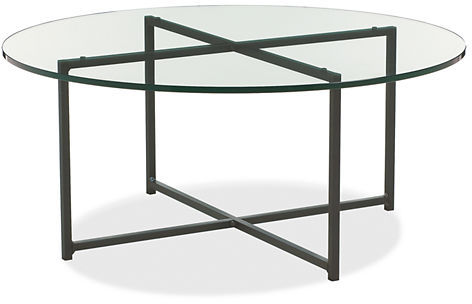Classic Cocktail Tables in Natural Steel