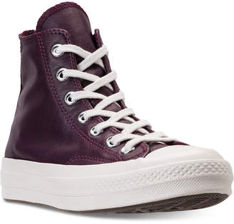 Converse Chuck Taylor All Star 70 High Top Leather Casual Sneakers from Finish Line