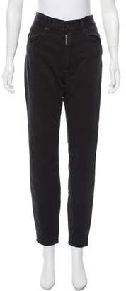 DSQUARED2 High-Rise Straight-Leg Jeans