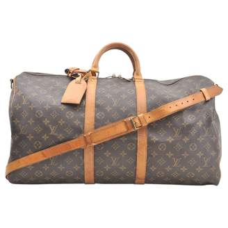 Louis Vuitton Keepall cloth travel bag