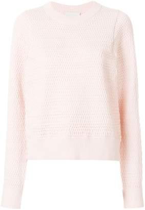 3.1 Phillip Lim Faux-plaited pullover
