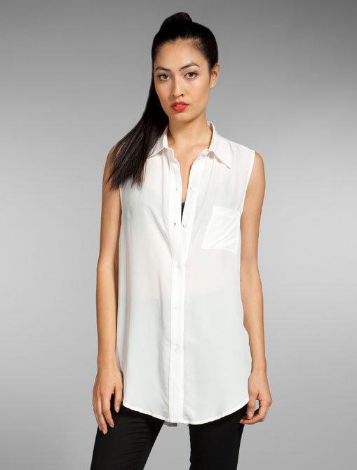 Kelly Bergin Sleeveless Vented Shirt