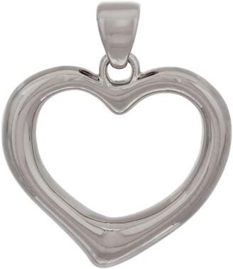 NUOVO Oro Polished Heart Pendant, 14K