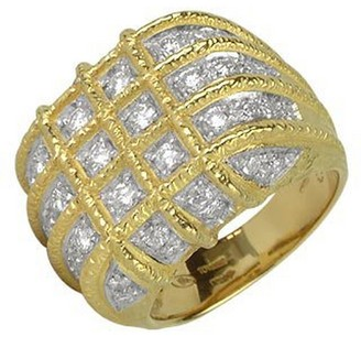 Torrini Wallstreet - 18K Yellow Gold Diamond Ring
