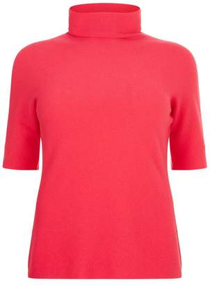 Marina Rinaldi Short Sleeve Cashmere Sweater