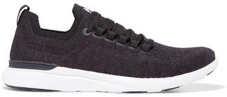 APL Athletic Propulsion Labs Techloom Breeze Mesh Sneakers - Black