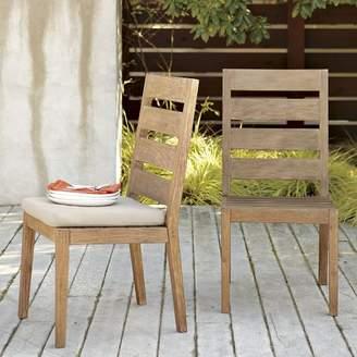 west elm Jardine Outdoor Ladderback Chair - Driftwood