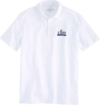 Vineyard Vines Super Bowl LIII Solid Edgartown Polo