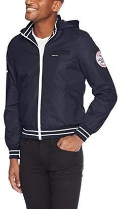 Members Only Men's Zip-Off Hooded Sail Jacket