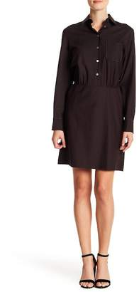 Paul & Joe Sister Fanny Wool Blend Chest Pocket Dress
