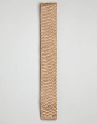 Gianni Feraud Knitted Tan Tie