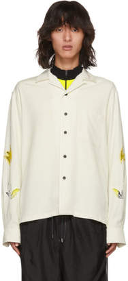 Toga Virilis Off-White Stitch Shirt