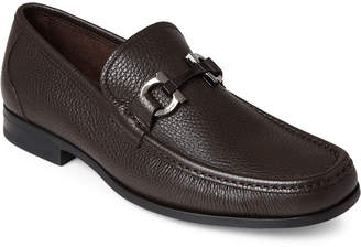 Salvatore Ferragamo Grandioso Gancini Bit Leather Loafers