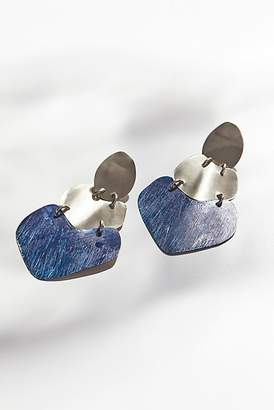 Sibilia Patina Plate Earrings