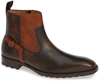 Mezlan Pitt Mixed Finish Boot