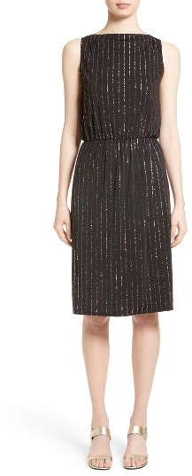 Marc Jacobs Women's Marc Jacobs Glitter Pinstripe Dress