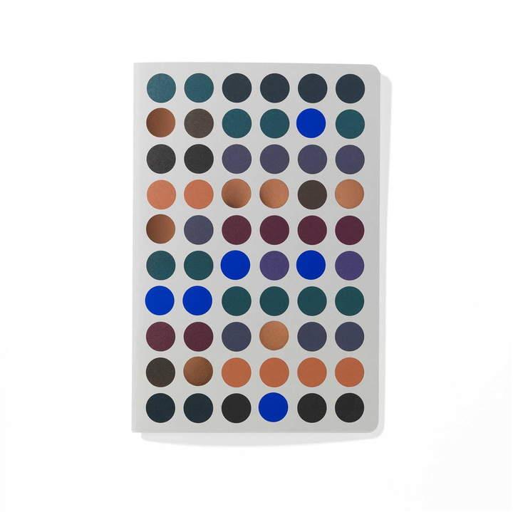 Dot Notebook, 9 x 13 cm, dunkel