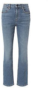 Alexander WangAlexander Wang Indigo High-Rise Straight Jeans