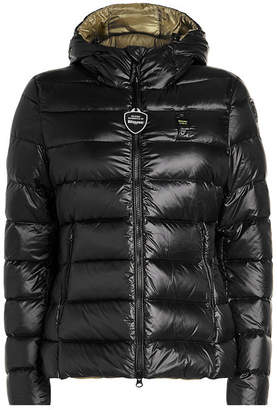 Blauer Giubboni Quilted Down Jacket