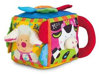 Melissa & Doug Musical Farmyard Cube - Ages 6 Months+