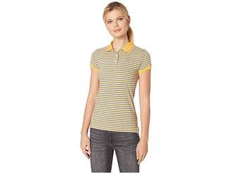 U.S. Polo Assn. Stripe Polo Women's Clothing