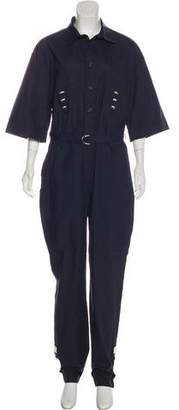 Band Of Outsiders Belted Utility Jumpsuit w/ Tags