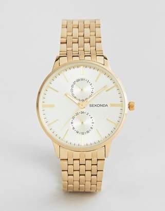 Sekonda Bracelet Watch In Gold