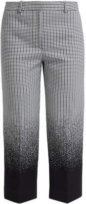 Erdem Preston cropped cotton-blend trousers