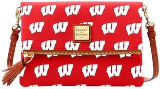 Dooney & Bourke Wisconsin Badgers Foldover Crossbody Purse